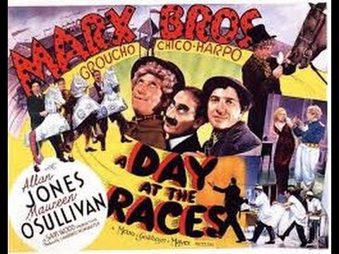 """Le lindy hop et les whitey's lindy hoppers dans le film des Marx Brothers, """"un jour aux courses""""."""