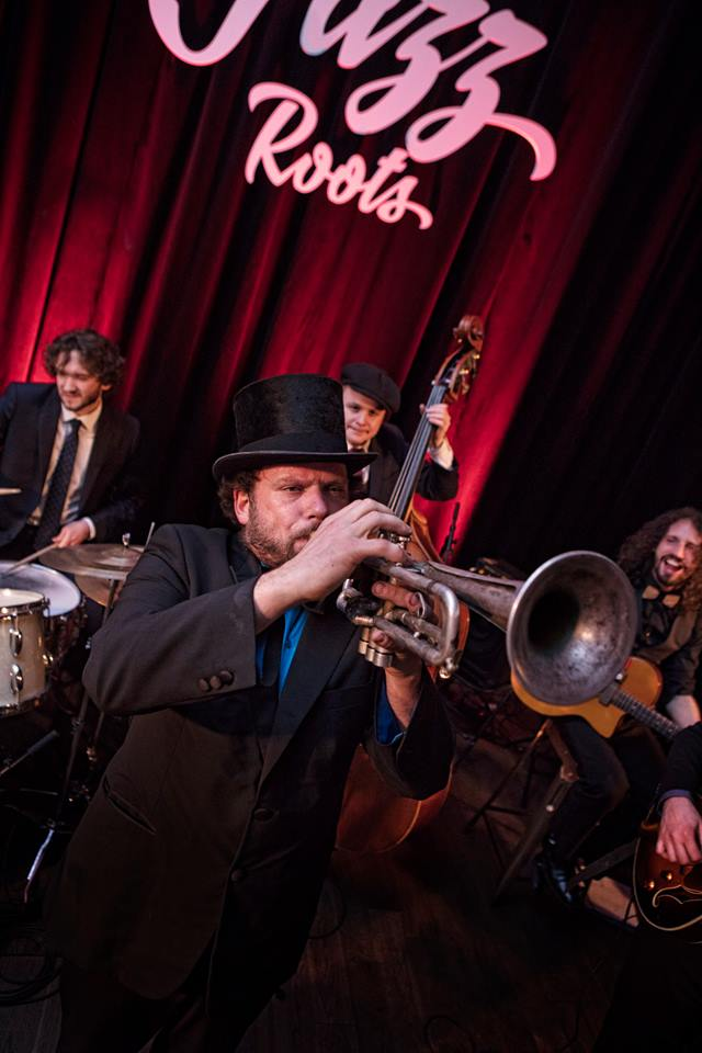 Le Hot Swing Sextet au Jazz Roots festival 2018 crédit Eric Esquivel